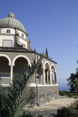 Roman Catholic Franciscan chapel on Mount of Beatitudes in the Galilee ,Is — Foto Stock