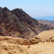 Mountains in the south of Israel, down to the Red Sea — Foto de Stock