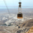 Cableway at Masada. — Stock Photo