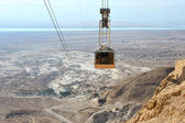Cableway at Masada. — Stock Photo
