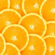 Abstract background with citrus-fruit of orange slices — Stock Photo #6350851