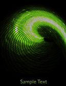 Vector green geometric tech background. Creative background.EPS10 — Stock Vector