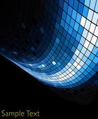 Vector geometric tech background. Vector creative background. Eps10 — Stock Vector