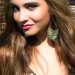 Portrait beautiful girl — Stock Photo #6592421