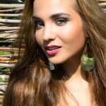 Portrait beautiful girl — Stock Photo #6599328