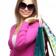 Stylish Girl with shopping bags — Stock Photo #6027506