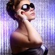 Stylish young wearing sunglasses — Stock Photo