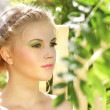 Young woman with summer make-up — Stock Photo #6442575