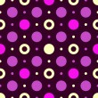 Seamless dark lilas pattern — Stock Vector