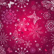Royalty-Free Stock Векторное изображение: Seamless purple christmas pattern