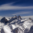 Panoramic view from Elbrus — Stock Photo #5450980