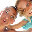 Playful children — Stock Photo