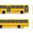 Yellow bus - Stock Photo