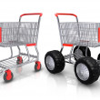 Shopping carts — Stock Photo #5785195