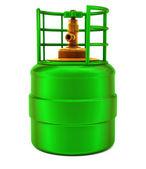 Small gas bulb — Stock Photo