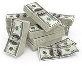 Big sum of money dollars — Stock Photo