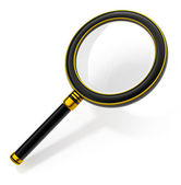 Magnifying glass — Foto Stock