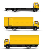 Truck car template — Stock Photo
