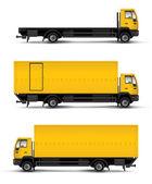 Truck car template — Stock Photo