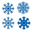 Royalty-Free Stock Векторное изображение: Snowflakes