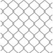 Stock Vector: Metal wire net background
