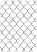 Metal wire net background — Stock Vector