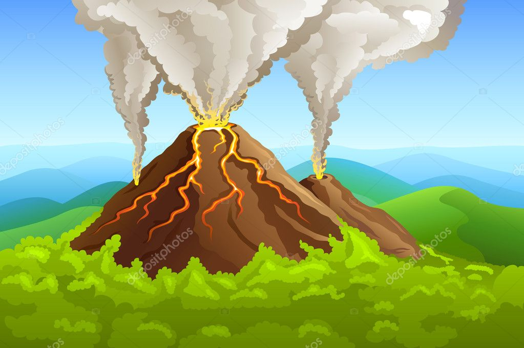 Selected Clipart Volcano Gif: quoteko.com/clipart-volcano.html