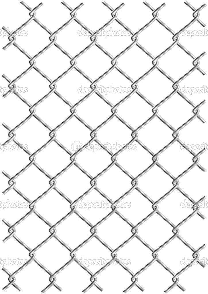 Metal wire net background vector illustration (clipping path is included) — Stok Vektör #5787916