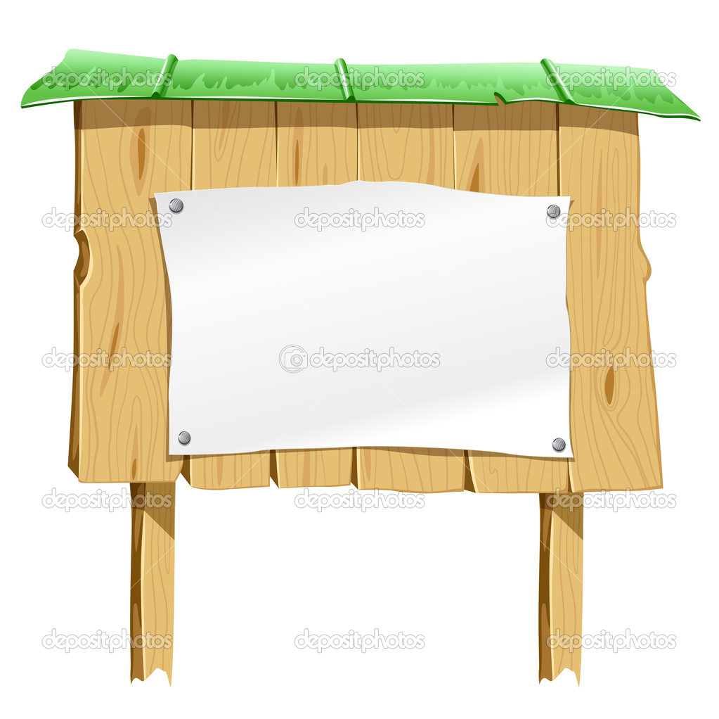 Blank Wooden Sign Board Wooden Blank Board With Blank