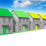 House energy efficiency concept — Stock Photo