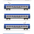 InterCity Express train set — Stock Photo