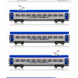 InterCity Express train set — Stock Photo #5422111