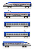 InterCity Express train set — Stock Photo