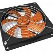 Computer chassis/CPU cooler - Stock Photo