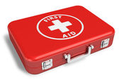First aid kit — Stock Photo