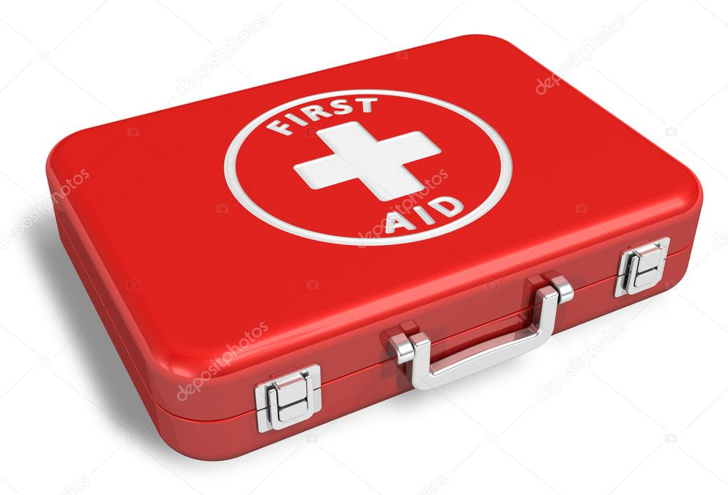 First aid kit — Stockfoto #5442901