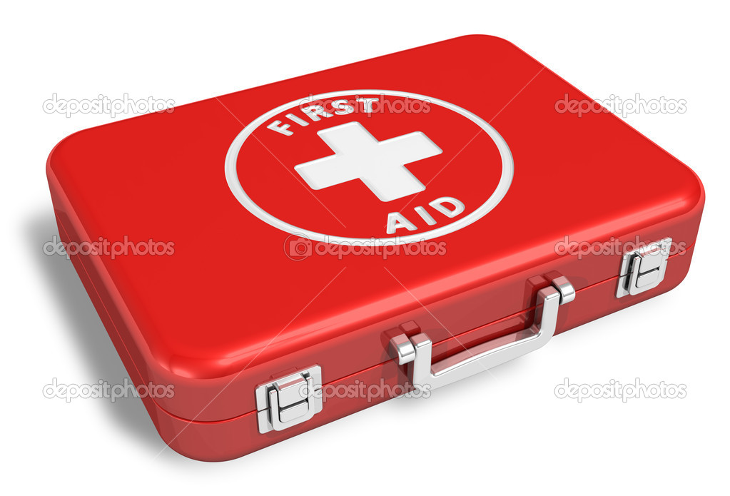 First aid kit — Foto de Stock   #5442901