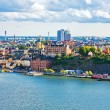 Panorama of Stockholm, Sweden — Foto Stock