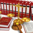 Legal or bidding concept - Stock Photo