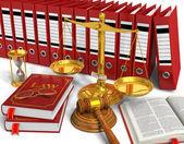 Juridique ou un concept d'appel d'offres — Photo