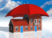 Real estate insurance concept — Photo