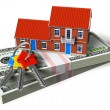 Real estate financial concept - Foto Stock