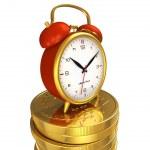 時間はお金の概念 — ストック写真