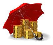 Finanzielle stabilität und erfolg-konzept — Stockfoto