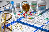 Medical/pharmacy concept — Stock Photo