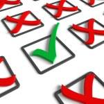 Voting/survey concept — Stock Photo