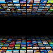 Abstracte multimedia achtergrond — Stockfoto