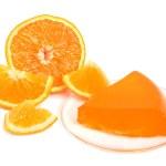 Orange jelly — Stock Photo #6042817