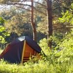 Tourist tent — Stock Photo