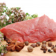Raw beef meat — Stock Photo #6411836